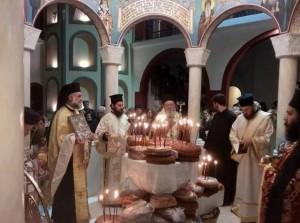 ΡΟΒΙΕΣ: Λαμπρή γιορτή στο μοναστήρι του Οσίου Δαυίδ