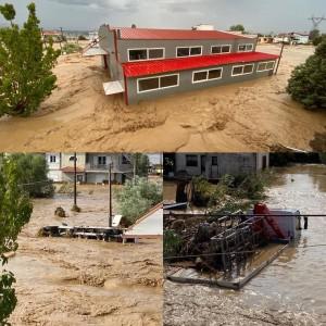 Πλημμύρισε και η επιχείρηση αλουμινίου Μπαρόλας