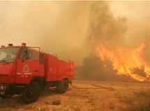 Πολύ υψηλός κίνδυνος πυρκαγιάς στη Νότιο Εύβοια
