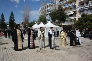 ΧΑΛΚΙΔΑ-25η Μαρτίου: Βουβός εορτασμός για άλλη μία φορά (video)