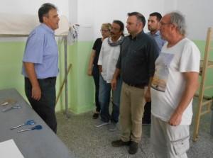 Το Τμήμα Δικαιωμάτων του ΣΥΡΙΖΑ επισκέφτηκε την Φυλακή Χαλκίδας